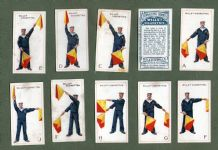 Collectable Tobacco Cigarette cards  Signalling Series 1926